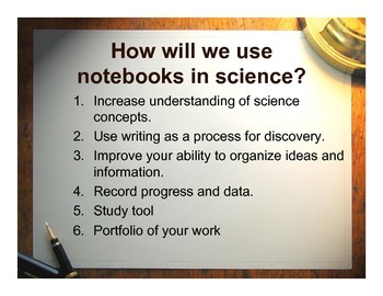 Interactive Science Notebook Kit - Middle School
