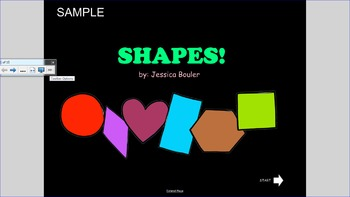 Interactive Shapes for Early Childhood SAMPLE