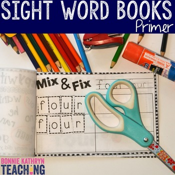 Interactive Sight Word Book- BLACK