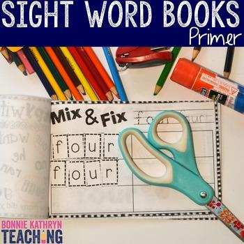 Interactive Sight Word Book- PRETTY