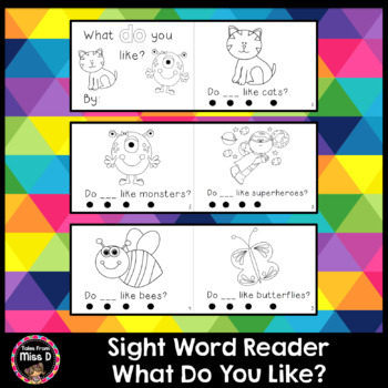Sight Word Reader YOU