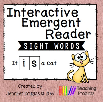Interactive Emergent Sight Word Reader - it IS a cat