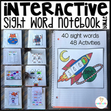 Interactive Sight Words Notebook Pre-Primer {Bundle}