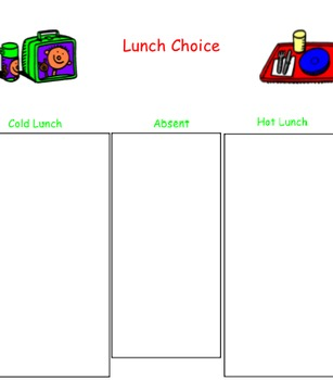 Interactive Smart Board Lunch Count