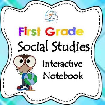 Interactive Social Studies Notebook {1st Grade}