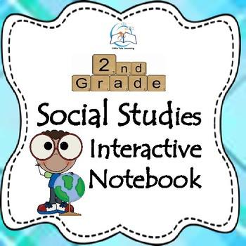 Interactive Social Studies Notebook {2nd Grade}
