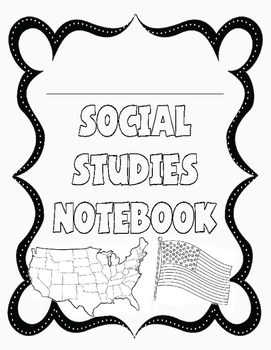 Interactive Social Studies Notebook Cover
