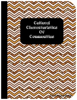 Interactive Social Studies Notebook Cultural Characteristi