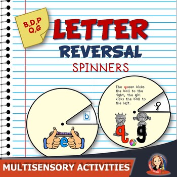 Interactive Spinners for Practice with Common Letter Rever
