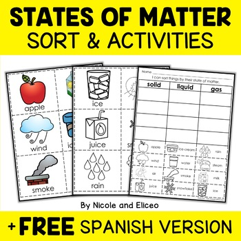 Interactive States of Matter Activities