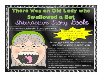 Interactive Story Books - There Was an Old Lady Who Swallo