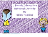 Interactive Student Notebook L Blends FREEBIE