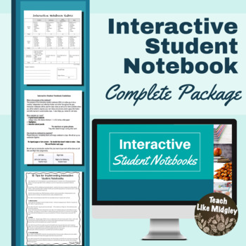 Interactive Student Notebook Student Guidelines