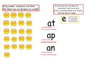 Interactive VCe Smiley Face Lesson and Poem
