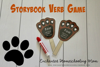 Interactive Verb Storybook Activity