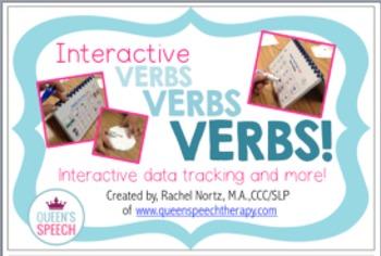 Interactive Verbs, Verbs, Verbs! {Data Tracking & more}
