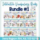 Interactive Vocabulary Books: Bundle 1