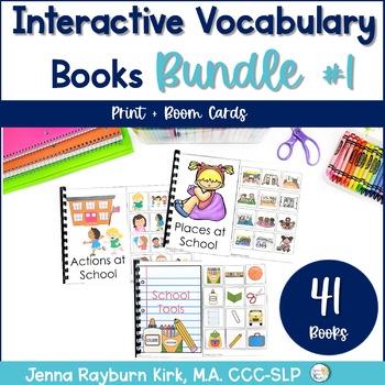 Interactive Vocabulary Books Bundle 1