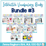 Interactive Vocabulary Books: Bundle 3