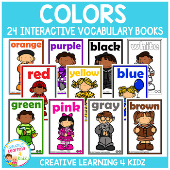 Interactive Vocabulary Books: Colors