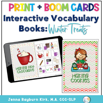 Interactive Vocabulary Books: Winter Treats