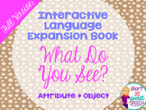 Interactive Vocabulary Expansion Activity: What Do You See