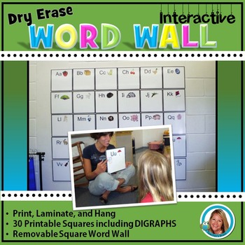 Back to School WORD WALL Dry Erase