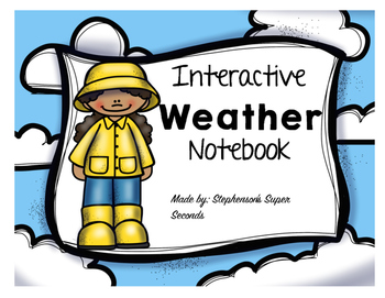 Interactive Weather Notebook Unit