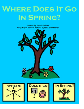 "Interactive ""Where Does It Go In Spring?"" book (Speech, Au"