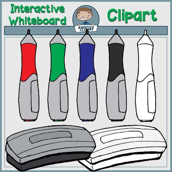 {Freebie} Interactive Whiteboard Supplies Clipart