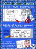 Interactive Word Building Books CVC Short Vowels Whimsy Wo
