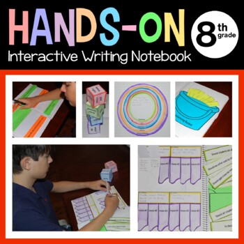 Interactive Writing Notebook Eighth Grade Common Core