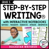 Interactive Writing Notebook Grade 5 with ALL Common Core