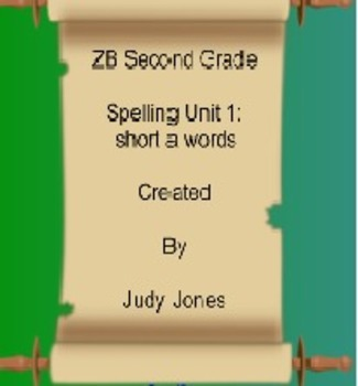 Interactive ZB Spelling Unit 1