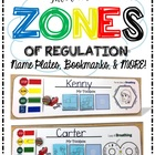 Interactive ZONES of Regulation Package - Name Plates, Bookmarks, & MORE!