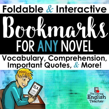 Interactive and Foldable Bookmarks for Any Novel