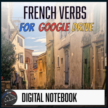 Interactive notebook - French verbs - Google drive edition