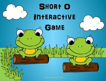 Short vowel o interactive powerpoint game - reading street