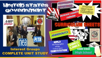 Interest Groups Flipped Classroom -The Complete Unit (High