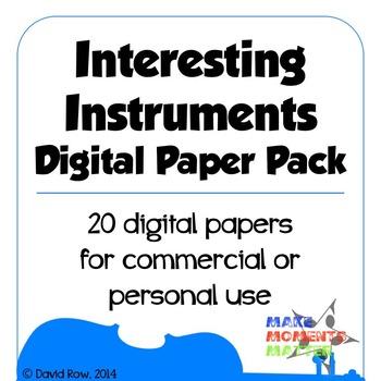 Interesting Instruments Digital Paper Pack