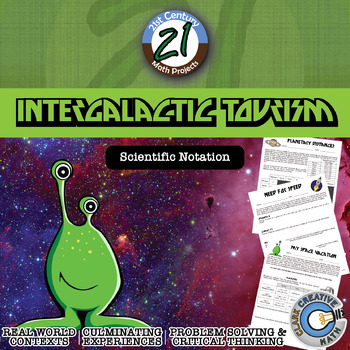 Intergalactic Tourism -- Scientific Notation Project