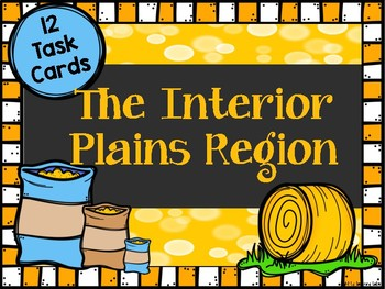 Interior Plains Region Task Cards