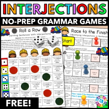Interjections Games FREE