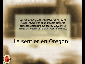 Intermediate French - Speaking - Oregon Trail - Future Ten
