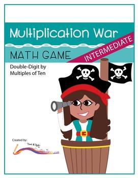 Multiplication War – Intermediate Level Math Game: Double-