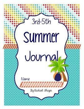 Intermediate Summer Writing Journal