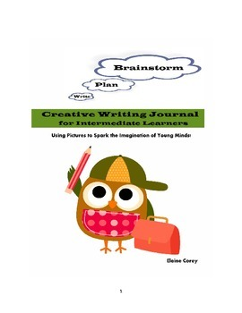 Intermediate Writing Journal through Pictures