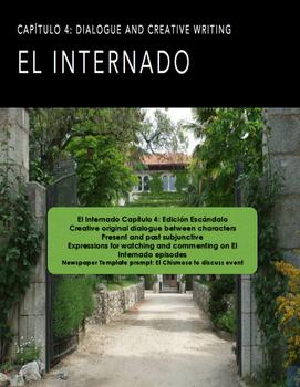 Internado Ep 4: 5 Act- Newspaper Writing assignment, Speak