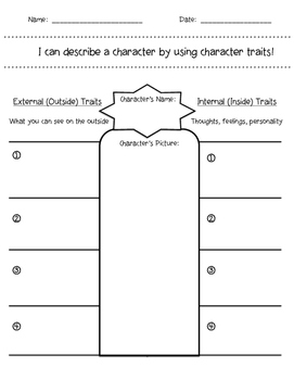 Internal and External Character Traits!