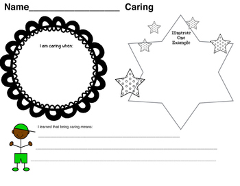 International Baccalaureate - Caring Writing Pages 1st  -6th